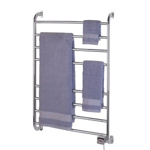 kensington wall mounted heated towel warmer