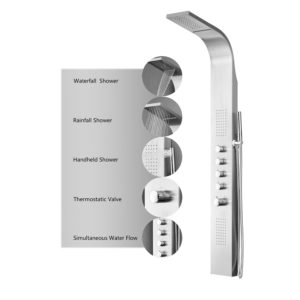 decor start shower panel system