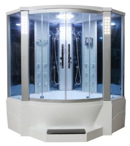 sliding door steam shower review