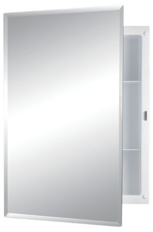 jensen frameless medicine cabinet with mirror