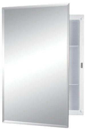 jensen frameless medicine cabinet with mirror