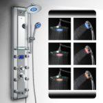 akdy shower panel led