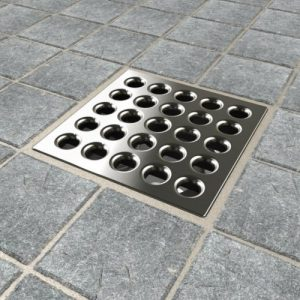 ebbe square shower drain gate